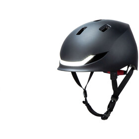 Lumos Matrix Helmet charcoal black